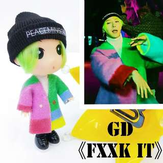 GD who you&fxxk it 公仔