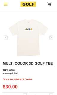 golf wang tees