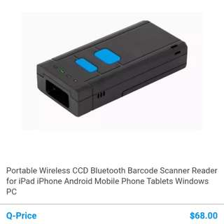 Bluetooth barcode scanner