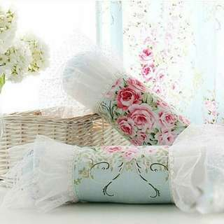 Bantal pillow cushion shabby shabbychic patchwork quilting guling bolsters cantik unik murah perlengkapan rumah home decoration set dekor kamar