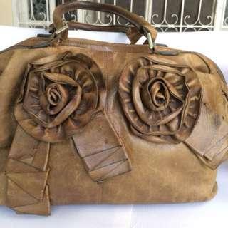 Vintage Leather Bag - Collector's Item
