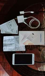 RUSH SALE Zenfone 4 Max Sunrise Gold