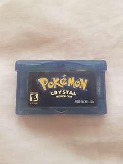 Gameboy Advance Pokemon Crystal Shards