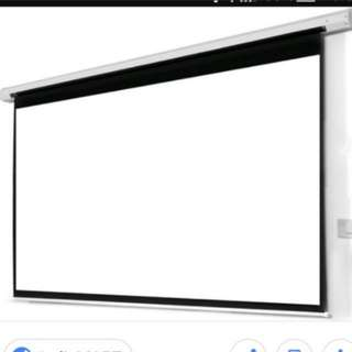 Projector screen 2.2m by 2.2m