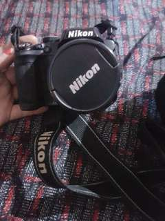 Nikon Coolpix P500 wide zoom 12.1 megapixels good for travel