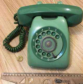 🚚 日本轉盤式 老電話