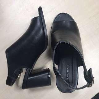 Primavera open toe high heels
