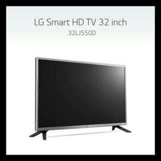 32 inch LG Smart HD TV Model 32LJ550D