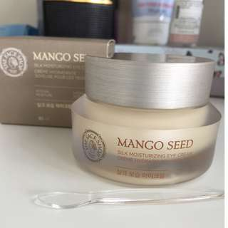 THE FACE SHOP - Mango Seed Silk Moisturizing Eye Cream