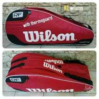 Tas raket badminton wilson original