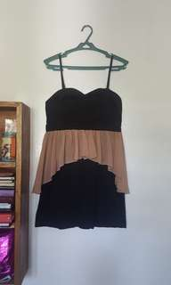 Cute and girly little black dress