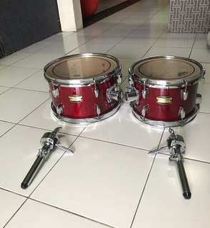 Drums  Yamaha manukatche birch tom 10 & 12 packages