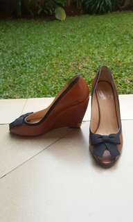 Authentic Bally Wedges Shoes