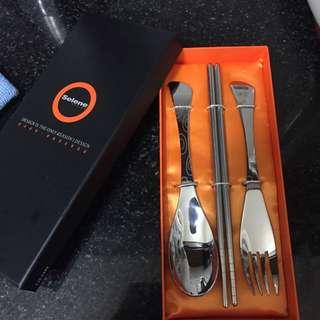 🚚 Selene 不鏽鋼環保餐具組合