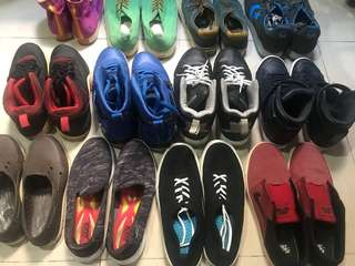 Assorted Branded Shoes
