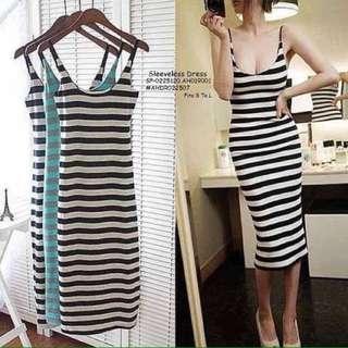 Sleeveless dress fits S-L