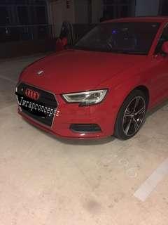 Audi headlight/tailight tint
