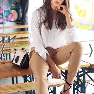 (Size S) TCL Charlie Pants In Khaki