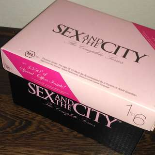 Sex and the City TV series complete special edition DVD box set
