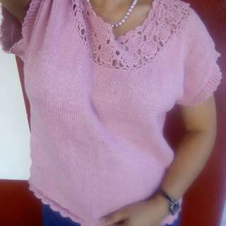 Knitted Blouse- Repriced