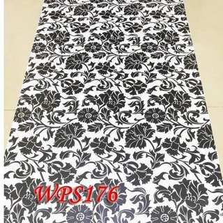 WPS176 WHITE N BLACK DECORE