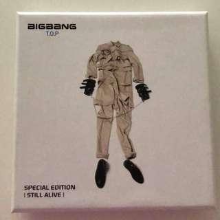 "BIGBANG (TOP) ""STILL ALIVE"" special edition album"