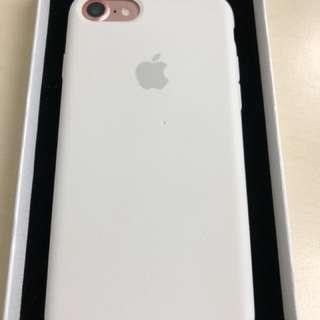 iPhone 7 矽膠護殼 白色 Phone case 二手 購自Apple Store