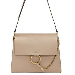 Chole Faye medium leather shoulder bag
