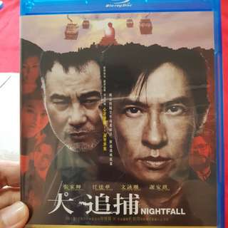 Used Nightfall bluray