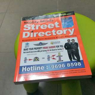 Brand new sealed 2018 street directory for sale