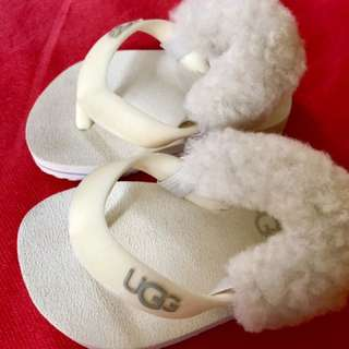 UGG White Slipper