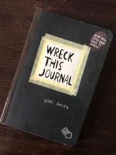 Wreck This Journal (1) by Keri Smith