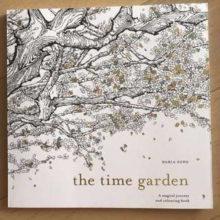 Time Garden Colouring book Daria Song FREE SHIPPING