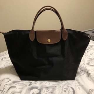 Longchamp black large