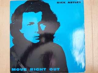 80s Pop and disco Rick Astley 12inch vinyl single
