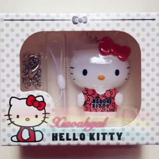 🔴ANY OFFER➡️ FOLLOWERS ONLY!🔴🌝Chat for other designs!🌝🐰AUTHENTIC BRAND NEW IN BOX🐰 SANRIO ORIGINAL RED HELLO KITTY EZLINK Ez link/charm/keychain/bagcharm w hook & chain ball! (SMALL USEFUL LIGHT --Gift for Gf/Own Use)💋No Pet No Smoker Clean Hse💋