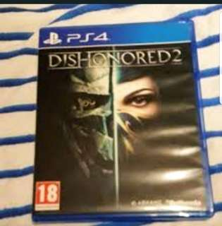 Ps4 Dishonoured 2