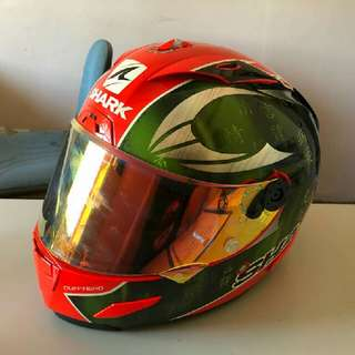 shark race-r pro tom sykes edition arai shoei agv hjc kyt