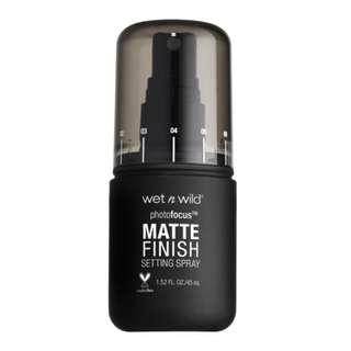 Wet N Wild Matte Setting Spray