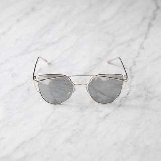 El Roy Silver Sunglasses