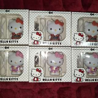 Set Of 2 Brand New Hello Kitty EZ Link Charms
