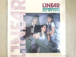 80s Pop and Disco Linear Sending all my love single
