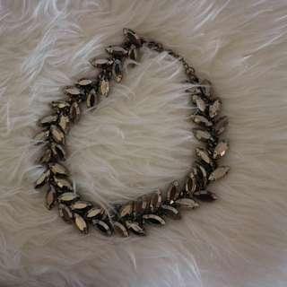 Dark Silver Necklace / Kalung Bunga #2 #saveorangutan