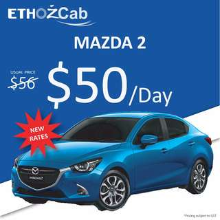 Car Rental for Uber and/or Grab driver - Private Hire Rental Vehicles_Mazda2/ Mazda3/ Toyota Altis/Nissan Slyphy