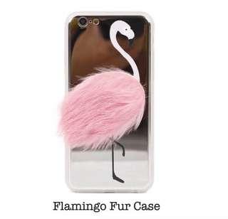 FLAMINGGO FUR CASE