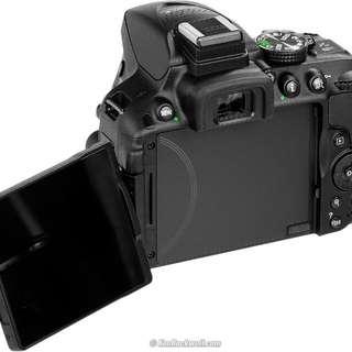 Kamera Nikon D5300 Free Memory Dan Tas Bisa Kredit