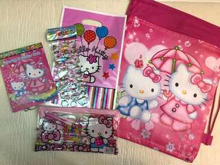 Cartoon Goodies Bag Package
