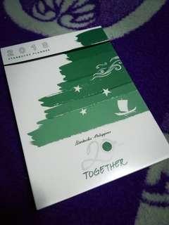 2018 Starbucks Planner (Small Green)