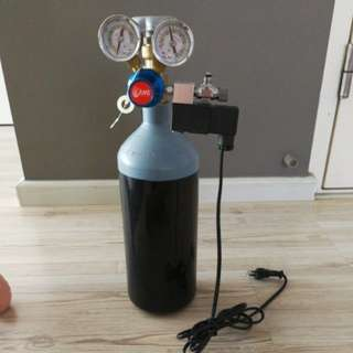 ANS CO2 tank with solenoid (2L)