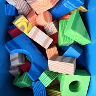 Building Blocks Foam